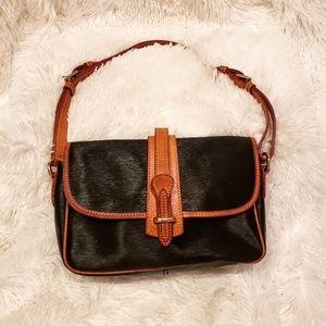 Dooney & Bourke Equestrian Saddle Flap Bag